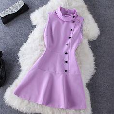 Vestido Lilas