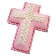 how to make a cross shaped cake