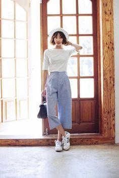 Fashion Mode, Look Fashion, Girl Fashion, Fashion Outfits, Womens Fashion, Tokyo Fashion, Korea Fashion, India Fashion, Korean Outfits