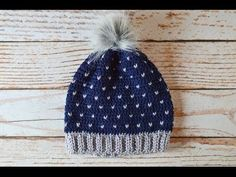Snowfall Slouchy Hat Crochet Pattern Tutorial - YouTube