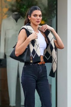Kendall Jenner Estilo, Kendall Jenner Outfits, Celebrity Outfits, Celebrity Look, Jessica Parker, Elegantes Outfit, Looks Chic, Jenner Style, Cute Casual Outfits