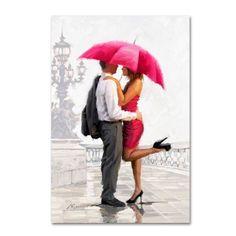 Canvas Frame, Canvas Art, Canvas Prints, Painted Canvas, Hand Painted, Figure Painting, Diy Painting, Umbrella Art, Pink Umbrella