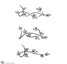 ivy tattoo on foot
