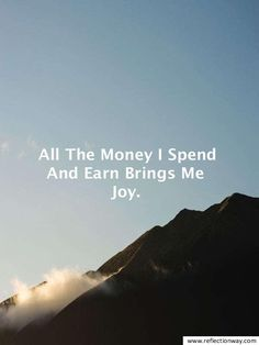 using the law of attraction to attract money # Prosperity Affirmations, Money Affirmations, Positive Affirmations, Great Quotes, Inspirational Quotes, Motivational Quotes, Random Quotes, Short Quotes, Mindfulness Exercises