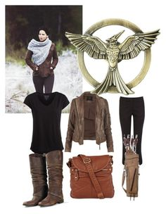 """""""Hunger Games"""" by sportsgrl275 ❤ liked on Polyvore featuring AllSaints, Pieces, Coast, Golden Goose and Lori's Shoes"""