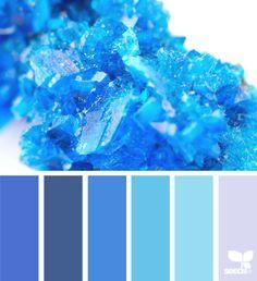 { crystallized blues } | image via: @rotblaugelb
