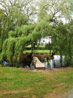 Bridged Island at The Outdoor Venue of Happy Valley in North West Norfolk  http:/