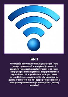 Jeśli masz problem z zasięgiem Wi-Fi w mieszkaniu - zapamiętaj. Router Wifi, Good Advice, Self Help, Good To Know, Home Remedies, Tricks, Einstein, Life Hacks, Knowledge