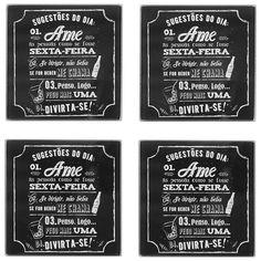 churrasqueira BOTECO PORTA-COPOS C/4 - Tok&Stok