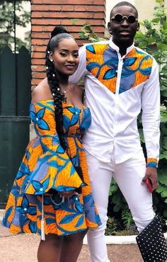 The most trendy and beautiful ankara styles and designs outfit for couples compilation. These ankara designs for couples were particularly selected for you and your partner. African Fashion Ankara, African Inspired Fashion, Latest African Fashion Dresses, African Print Dresses, African Print Fashion, African Dress, Nigerian Fashion, Ankara Dress, Dress Fashion