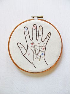"""lesstalkmoreillustration:  """" DIY Embroidery Kits By Cozyblue On Etsy  *More Things & Stuff  """""""