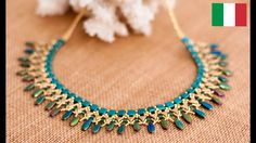 Half Moon Necklace ~ Seed Bead Tutorals