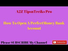 how to open a perfect money account