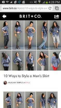 10 Ways to style s men's shirt