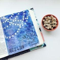 Bible Journaling by @lynzeebrooke
