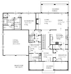 46 Best House Floor Plans images   Floor plans, Home plants, House House Dream Plan Home Dhsw on