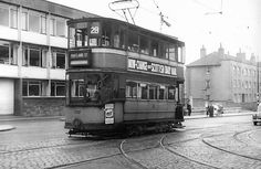 Tram on Maryhill Road Late 1950s