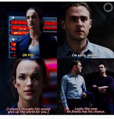 Fitz would give up the world for her