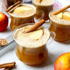 Honeycrisp Apple Hot Buttered Rum - the ideal fall cocktail that tastes exactly like warm apple pie...with a dash of spiced rum!