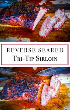 If you love steak. you will love a perfect Reverse Seared Tri-Tip Roast via If you love steak. you will love a perfect Reverse Seared Tri-Tip Roast via Tri Tip Steak Recipes, Beef Tri Tip, Oven Recipes, Grilling Recipes, Cooking Recipes, Sirloin Roast, Beef Pot Roast, Tritip Roast Recipes, Tri Tip Oven