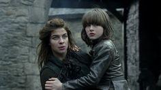 Osha and Brandon Stark