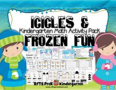 Icicles and Frozen Fun [A Kindergarten Math Activity Pack] - Enter to Win!! Enjoy some 'snow fun' indoors with this set of six winter activities that will surely warm everyone up! .  A GIVEAWAY promotion for Icicles and Frozen Fun [A Kindergarten Math Activity Pack] from RFTS PreK-Kindergarten on TeachersNotebook.com (ends on 1-12-2015)
