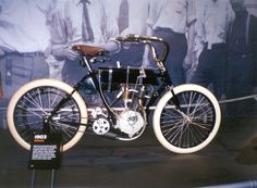 The first Harley Davidson Motorcycle of 1903