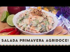Salada Primavera Agridoce | Receitas de Minuto - A Solução prática para o seu dia-a-dia!Receitas de Minuto – A Solução prática para o seu dia-a-dia!