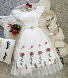 Source by missjennkaur fashion dresses Cute Casual Outfits, Girly Outfits, Mode Outfits, Pretty Outfits, Pretty Dresses, Stylish Outfits, Beautiful Outfits, Women's Dresses, Casual Dresses
