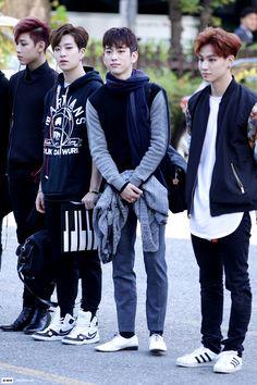 BamBam, Youngjae, Jr and JB