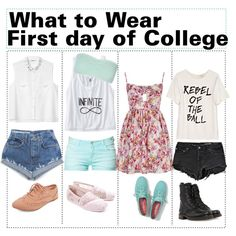 What to wear: First day of college