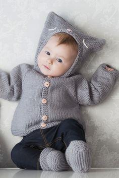 Vauvan hupullinen nuttu Novita Baby Wool | Novita knits WINTER 2016