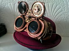 Steampunk goggles by TheCogDetective.deviantart.com on @DeviantArt