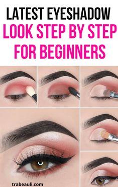Eyebrow Makeup Tips, Makeup Tutorial Eyeliner, Eye Makeup Steps, Makeup Eye Looks, Eyeshadow Styles, Eyeshadow Makeup, Eyeshadow Tips, Eyeshadows, Simple Eyeshadow Looks