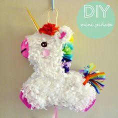 manitas de gato: diy: mini piñata