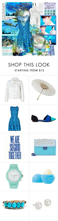 """Echo......."" by purplecherryblossom ❤ liked on Polyvore featuring Vanity Fair, Tiffany & Co., Marc by Marc Jacobs, Darice, Issa, Chinese Laundry, Mario Pini, Kate Spade, 1&20 Blackbirds and Alexis Bittar"