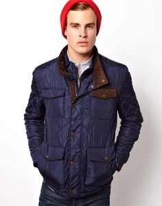 Selected Quilted Jacket