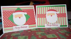 Christmas cards using DoodleCharms cricut cartridge