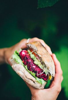 3. Beet and Feta Burger #healthy #veggieburger http://greatist.com/eat/veggie-burgers-even-meat-eaters-will-love
