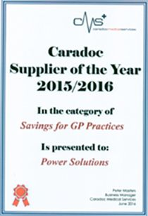 Caradoc Supplier of the year