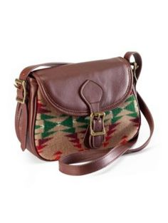 Pendleton Woolen Mills: saddlebag and navajo print? yes please!