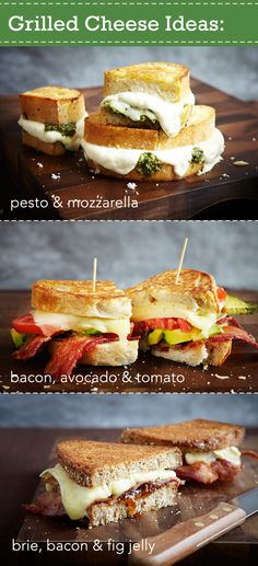 Make the gooey grilled cheese sandwich of your dreams and discover 15 ways to mix it up. http://www.pgeveryday.com/food/lunch/article/grilled-cheese-ideas