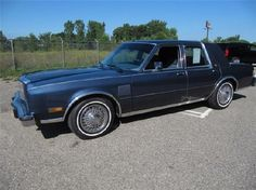 My latest set of wheels.  1988 Chrysler 5th Avenue.  This isn't actual picture of mine, but it's close enough.