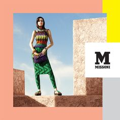 #MMissoni Advertising Campaign | Spring Summer 2014 Advertising Archives, Advertising Campaign, Ads, Summer 2014, Spring Summer, Fashion Banner, Campaign Ideas, Dress For Success, Alters