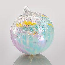 .... Winter Solstice by Tom Stoenner (Art Glass Ornament)