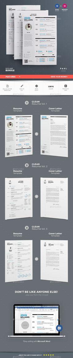 clean, modern header CV styling Pinterest Cleanses, Modern - killer resume template