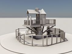 Tree house modeling Multimedia, Bookends, Modeling, House, Design, Home Decor, Decoration Home, Modeling Photography, Home