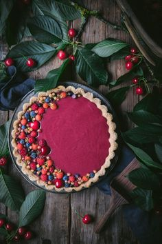 Easy Tart Recipes, Recipes Using Fruit, Best Dessert Recipes, Almond Recipes, Fun Desserts, Cookie Recipes, Sans Lactose, Sans Gluten, Mixed Berry Jam