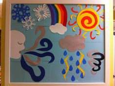 Weather bulletin board idea
