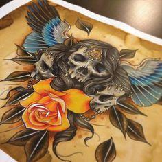 Tattooflash skull tattoo